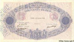 500 Francs BLEU ET ROSE FRANCE  1928 F.30.31 TTB+