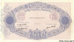 500 Francs BLEU ET ROSE FRANCE  1932 F.30.35