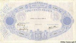 500 Francs BLEU ET ROSE modifié FRANCE  1940 F.31.56 TB