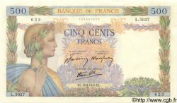 500 Francs LA PAIX FRANCE  1942 F.32.31 pr.NEUF