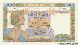 500 Francs LA PAIX FRANCE  1942 F.32.36 NEUF