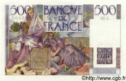 500 Francs CHATEAUBRIAND FRANCE  1945 F.34.03 NEUF