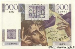 500 Francs CHATEAUBRIAND FRANCE  1947 F.34.07 pr.NEUF