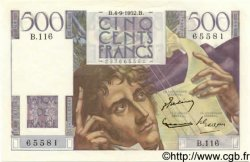 500 Francs CHATEAUBRIAND FRANCE  1952 F.34.10 pr.NEUF