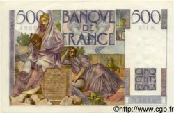 500 Francs CHATEAUBRIAND FRANCE  1953 F.34.11 pr.NEUF