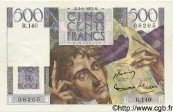 500 Francs CHATEAUBRIAND FRANCE  1953 F.34.12 SUP+ à SPL