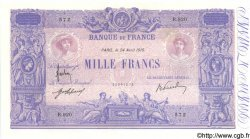 1000 Francs BLEU ET ROSE FRANCE  1915 F.36.29 TTB+