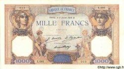 1000 Francs CÉRÈS ET MERCURE FRANCE  1928 F.37.02 pr.SUP