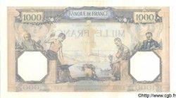 1000 Francs CÉRÈS ET MERCURE FRANCE  1936 F.37.09 SUP
