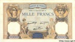 1000 Francs CÉRÈS ET MERCURE type modifié FRANCE  1937 F.38.06 TTB+