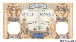 1000 Francs CÉRÈS ET MERCURE type modifié FRANCE  1937 F.38.07 pr.SPL
