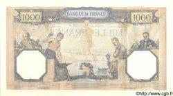 1000 Francs CÉRÈS ET MERCURE type modifié FRANCE  1938 F.38.11 pr.SPL
