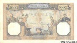 1000 Francs CÉRÈS ET MERCURE type modifié FRANCE  1938 F.38.22