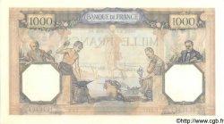 1000 Francs CÉRÈS ET MERCURE type modifié FRANCE  1938 F.38.22 SPL+