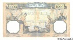 1000 Francs CÉRÈS ET MERCURE type modifié FRANCE  1938 F.38.32 SUP+