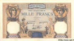 1000 Francs CÉRÈS ET MERCURE type modifié FRANCE  1939 F.38.33 SUP+