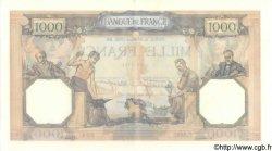 1000 Francs CÉRÈS ET MERCURE type modifié FRANCE  1939 F.38.35 SPL