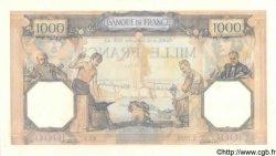 1000 Francs CÉRÈS ET MERCURE type modifié FRANCE  1939 F.38.36 pr.NEUF