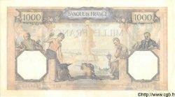 1000 Francs CÉRÈS ET MERCURE type modifié FRANCE  1939 F.38.37 pr.SPL