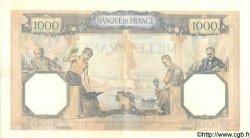 1000 Francs CÉRÈS ET MERCURE type modifié FRANCE  1940 F.38.44 SPL+