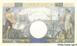 1000 Francs COMMERCE ET INDUSTRIE FRANCE  1940 F.39.03 SPL+