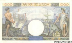1000 Francs COMMERCE ET INDUSTRIE FRANCE  1940 F.39.03 NEUF
