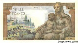 1000 Francs DÉESSE DÉMÉTER FRANCE  1942 F.40.04 pr.NEUF