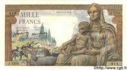 1000 Francs DÉESSE DÉMÉTER FRANCE  1942 F.40.06 NEUF