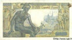 1000 Francs DÉESSE DÉMÉTER FRANCE  1943 F.40.19 TB+