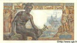 1000 Francs DÉESSE DÉMÉTER FRANCE  1943 F.40.25 SPL+