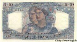 1000 Francs MINERVE ET HERCULE FRANCE  1945 F.41.06 SUP+