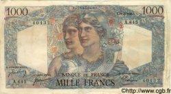 1000 Francs MINERVE ET HERCULE FRANCE  1946 F.41.11 TTB