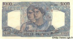 1000 Francs MINERVE ET HERCULE FRANCE  1946 F.41.12 pr.SPL