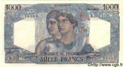 1000 Francs MINERVE ET HERCULE FRANCE  1946 F.41.14 SPL