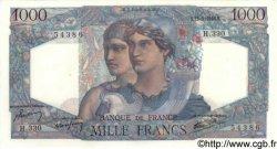 1000 Francs MINERVE ET HERCULE FRANCE  1946 F.41.16 pr.NEUF