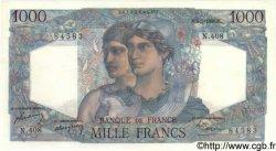 1000 Francs MINERVE ET HERCULE FRANCE  1948 F.41.20 pr.SPL