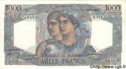 1000 Francs MINERVE ET HERCULE FRANCE  1948 F.41.24 SUP