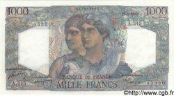 1000 Francs MINERVE ET HERCULE FRANCE  1949 F.41.26 NEUF
