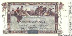 5000 Francs FLAMENG FRANCE  1918 F.43.01 pr.SPL