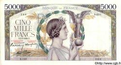 5000 Francs VICTOIRE Impression à plat FRANCE  1939 F.46.03 SPL