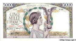 5000 Francs VICTOIRE Impression à plat FRANCE  1939 F.46.05 SPL