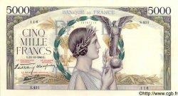 5000 Francs VICTOIRE Impression à plat FRANCE  1940 F.46.16 pr.SPL