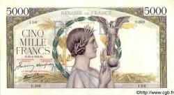 5000 Francs VICTOIRE Impression à plat FRANCE  1941 F.46.19 pr.SPL