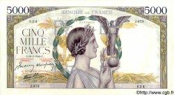5000 Francs VICTOIRE Impression à plat FRANCE  1942 F.46.35 pr.SPL