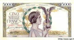 5000 Francs VICTOIRE Impression à plat FRANCE  1942 F.46.39 pr.SPL