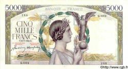 5000 Francs VICTOIRE Impression à plat FRANCE  1942 F.46.41 pr.SPL