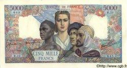 5000 Francs EMPIRE FRANÇAIS FRANCE  1942 F.47.01 SUP
