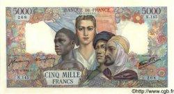 5000 Francs EMPIRE FRANCAIS FRANCE  1944 F.47.07 SUP+ à SPL