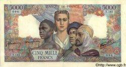 5000 Francs EMPIRE FRANÇAIS FRANCE  1944 F.47.08 pr.SUP