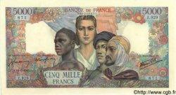 5000 Francs EMPIRE FRANÇAIS FRANCE  1945 F.47.39 pr.SPL